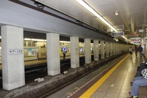 日比谷線築地駅