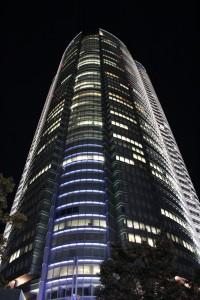 六本木ヒルズ森タワー(2010年11月3日撮影)