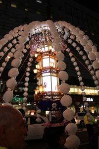 立正佼成会の万燈(2010年10月18日撮影)