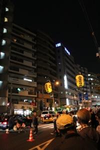 雑司ヶ谷鬼子母神お会式の立正佼成会(2010年10月18日撮影)