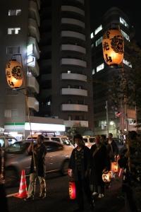 行列の先頭(2010年10月18日撮影)