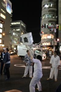 まといの舞(2010年10月18日撮影)