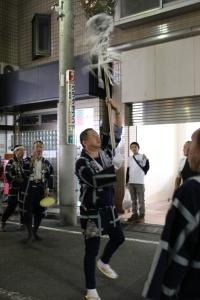 鬼子母神表参道商店街にて(2010年10月18日撮影)