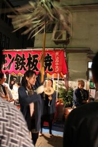 けやき並木にて(2010年10月18日撮影)