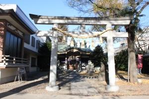 雑司ヶ谷大鳥神社(2010年12月10日撮影)