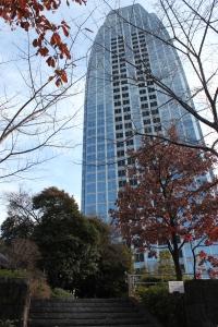 愛宕グリーンヒルズMORIタワー(2011年1月4日撮影)