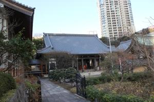 青松寺中心部(2011年1月4日撮影)