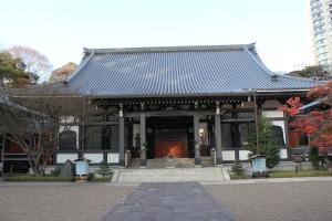 青松寺本堂(2011年1月4日撮影)
