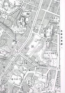 帝都地形図(1930年)