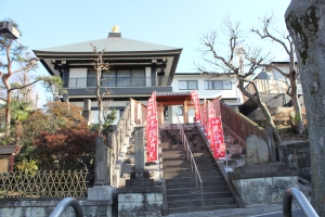 御嶽山清立院(2011年1月11日撮影)