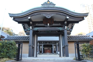 青松寺中雀門(2011年1月31日撮影)