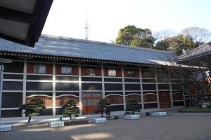 坐禅堂(2011年1月31日撮影)
