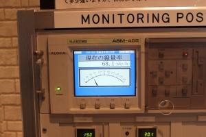 原子力科学館モニタリングポストの計測値