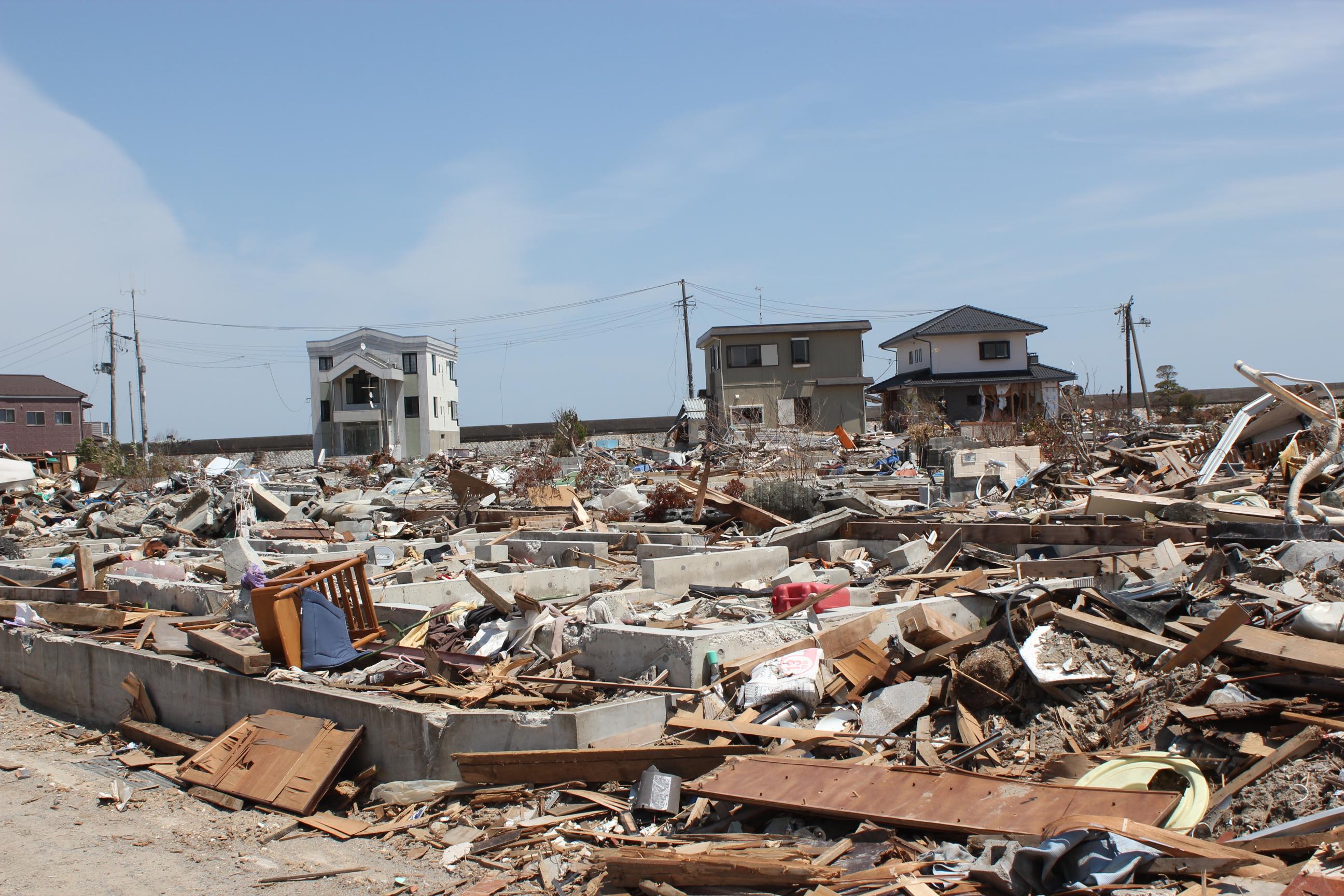 地震・津波・放射線に襲来されたいわき市の海岸部ー東日本大 ...