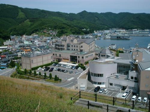 被災前の女川町立病院(同院ホームページより)