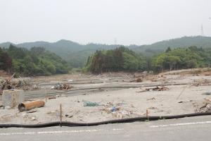 鮫浦の現況(2011年6月5日)