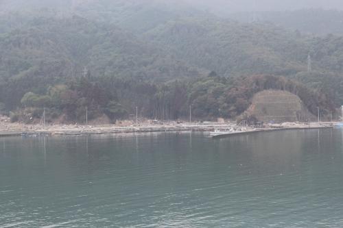 野々浜集落遠望(西側)
