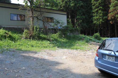 津波で残った女川の家屋(2011年7月26日)