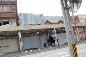 石巻市市街地中心部(2011年7月26日)