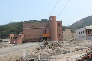 復興が遅れている女川町(2011年7月26日)