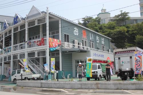 気仙沼市お魚いちば(2011年7月27日)