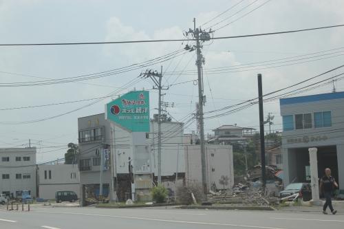 気仙沼市港町の景況(2011年7月27日)