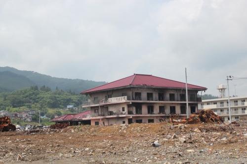 気仙沼市市街地北部の津波被災地⑧(2011年7月27日)