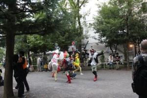 出発地点の恵比寿公園