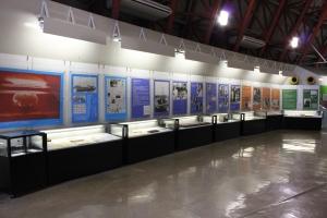 第五福竜丸展示館のメイン展示(2011年12月7日撮影)