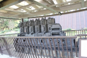 第五福竜丸のエンジン(2011年12月7日撮影)