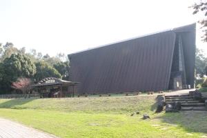 第五福竜丸展示館全景(2011年12月7日撮影)