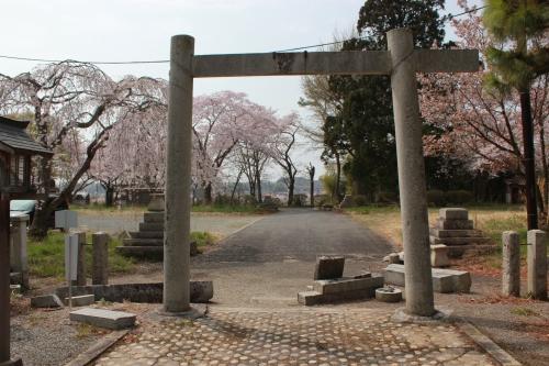 小高神社(2012年4月25日撮影)