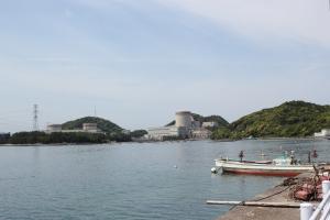 福井県美浜原発(2011年5月25日撮影)