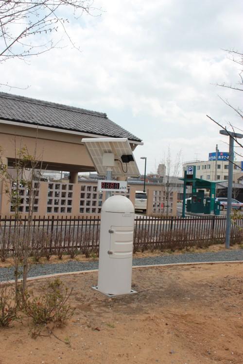 原ノ町駅前の小公園(2012年4月24日撮影)