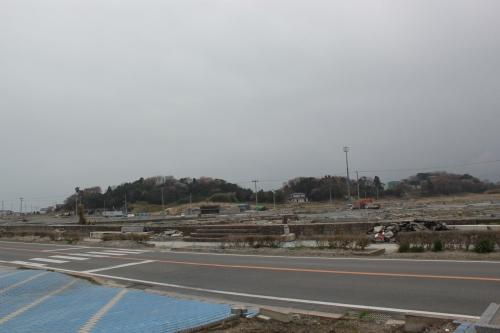 相馬市原釜地区(2012年4月25日撮影)