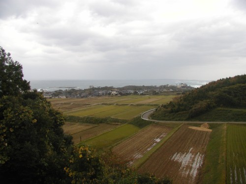 福井県福井市鷹巣地区糸崎(2012年11月13日)