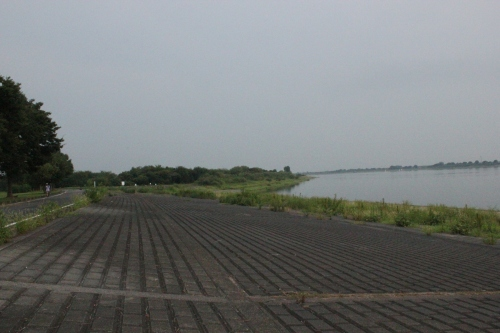 谷中湖(2013年8月11日撮影)