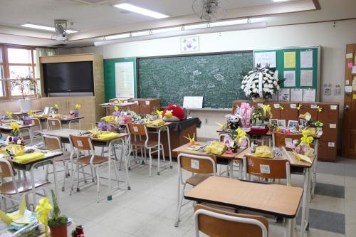 壇園高校二年生の教室