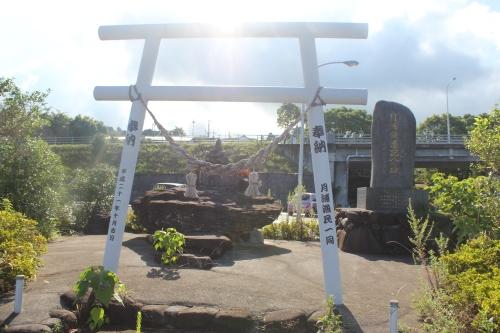 月浦新港にまつられていた恵比寿様