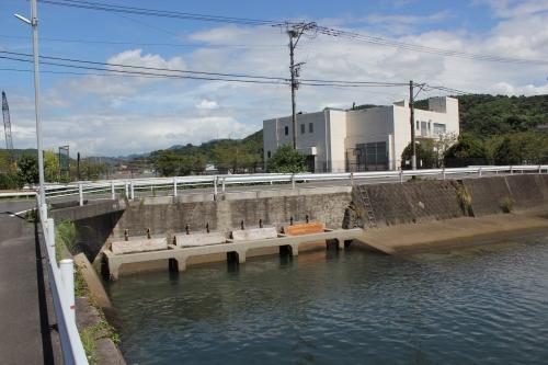チッソ水俣工場百間排水口